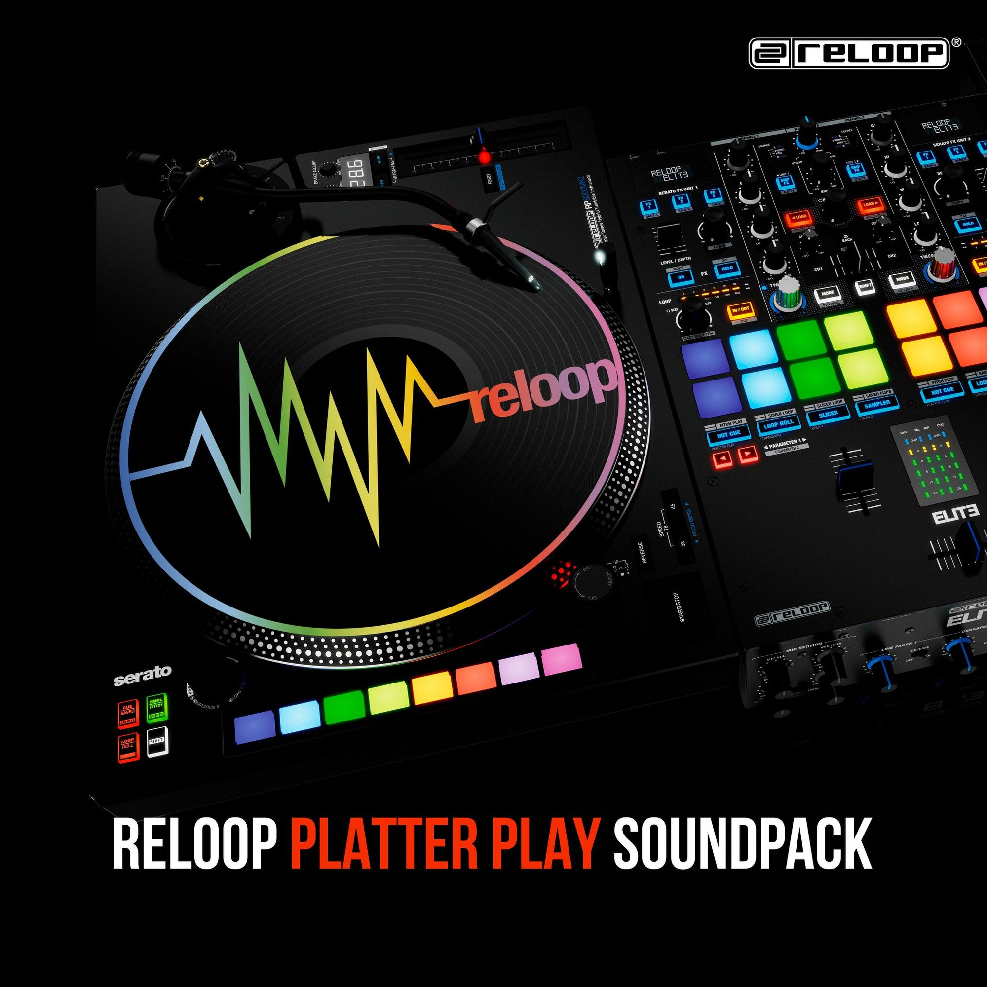 RP-8000 MK2 Platter Play Soundpacks by DJ Dens, DJ ANGELO, Chris Karns & DJ STYLEWARZ